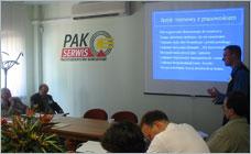 PAK Serwis - szkolenie kierowników wydziałów